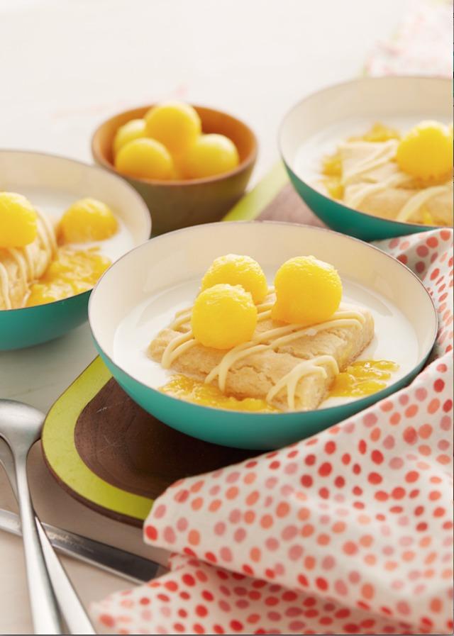 Mango Me Happy Easy Dessert Hack #BringBackDessert #ad