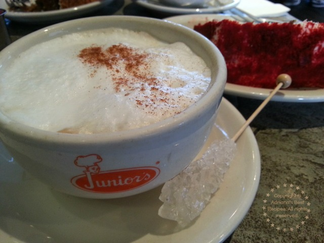 Capuccino-Coffee-at-Juniors-New-York