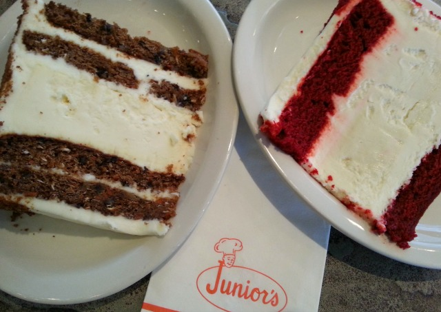 Juniors Cheesecakes Carrot and Red Velvet
