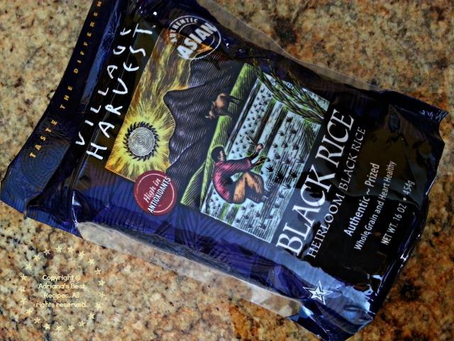 Heirloom Black Rice #ABRecipes