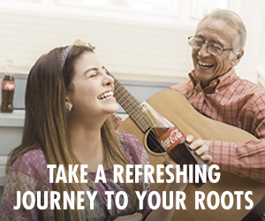 Take a Refreshing Journey to Your Roots #MomentosCoke #ad