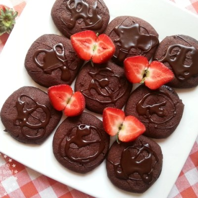 Chocolate Molten Cookies
