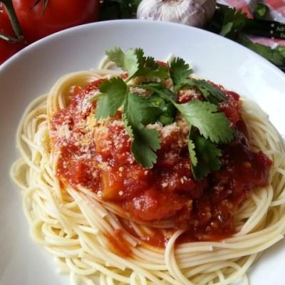 Mexican Spaghetti Marinara