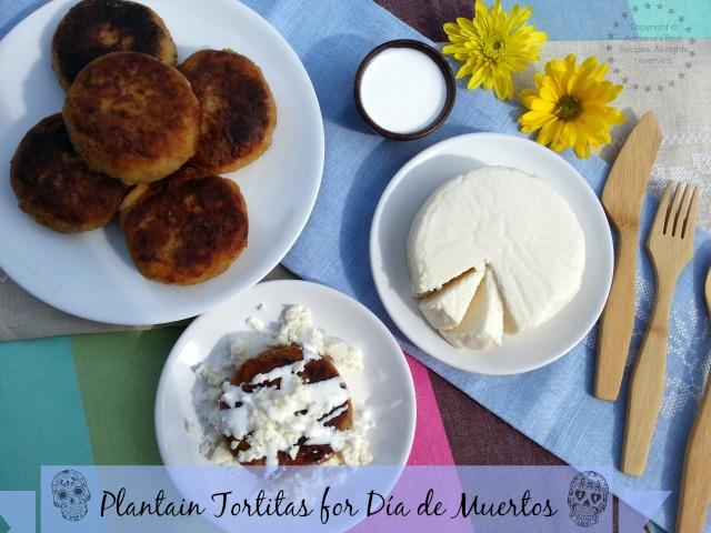 Tortitas de Platano para el Día de Muertos