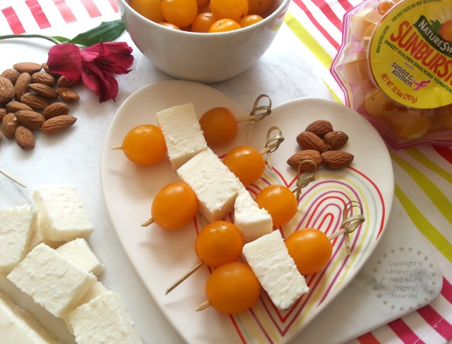 Yellow Cherry Tomatoes Snack #NatureSweet #ad #BreastCancer