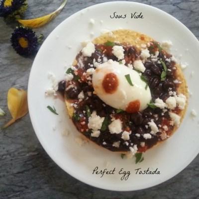 Tostadas de Huevo Cocinadas en Sous Vide