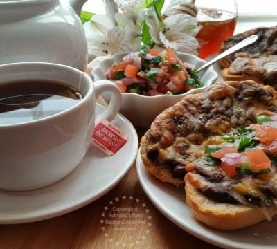 Desayuno de Molletes y Té #AmericasTea #Ad