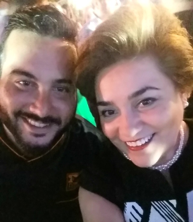 Adriana Martin and Chef Mendin #SabiosDelSabor #ad