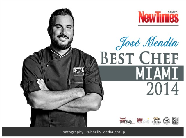 Chef Jose Mendin of Pubbelly  #SabiosDelSabor #SOBEWFF  #ad Photo Credit: Pubelly Media Group