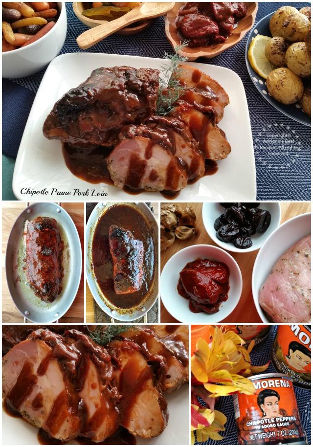 Chipotle Prune Pork Loin with La Morena #VivaLaMorena #ad