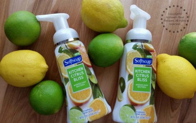 In my kitchen I need an affordable hand soap that helps eliminating odor #FoamSensations #ad