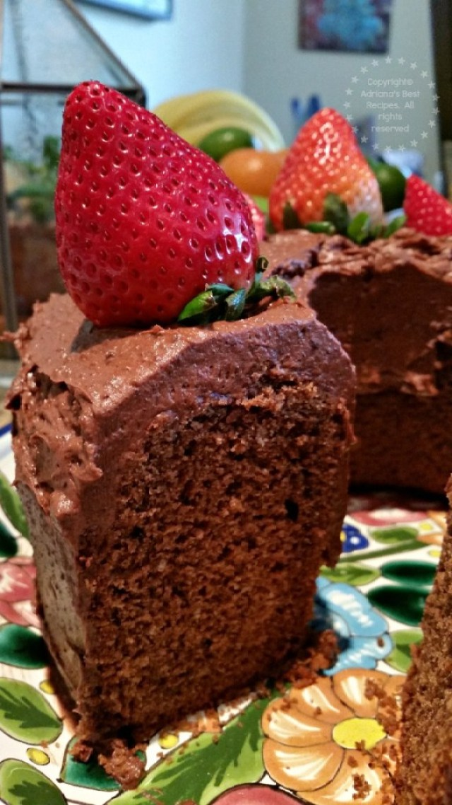 The taste of this Mexican Chocolate Cake is so decadent #ABRecipes