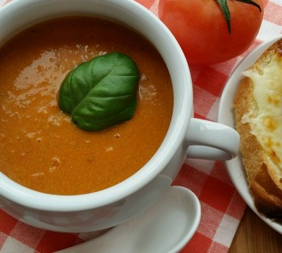 Heirloom Tomato Bisque