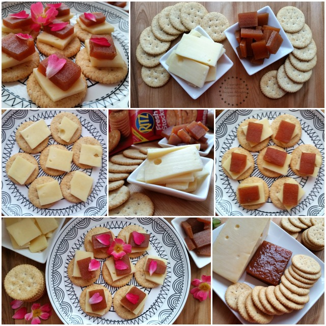 How to make the Swiss Cheese and Guava Paste Snack  #PutItOnARitz #ad