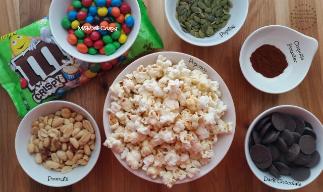 Ingredients for making Mexican Crispy Popcorn Crunch #CrispyComeback #Ad