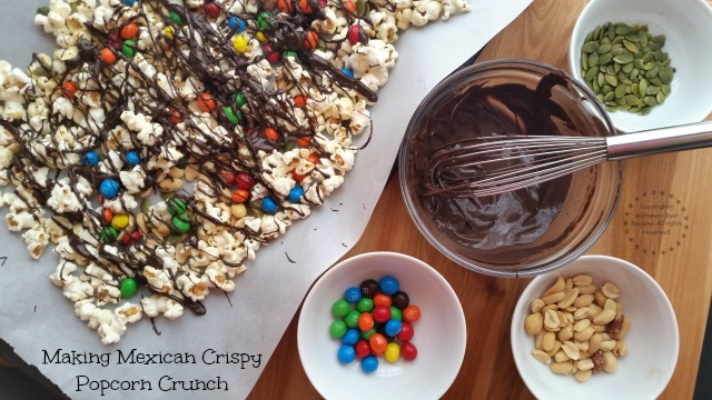 Making Mexican Crispy Popcorn Crunch #CrispyComeback #Ad
