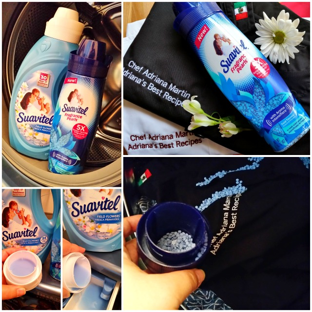 Washing my chef coats while smelling the scents that bring you home #LongLastingScent #Ad