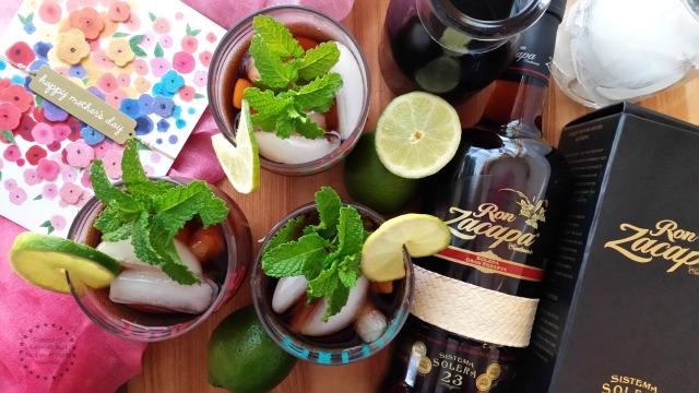 Cuba Libre Cocktail and Rum Zacapa #ZacapaRum #ABRecipes