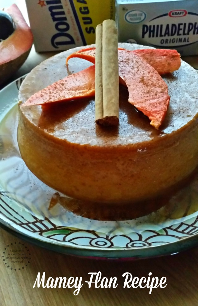How to Make the Mamey Flan Recipe #ComidaKraft #ad