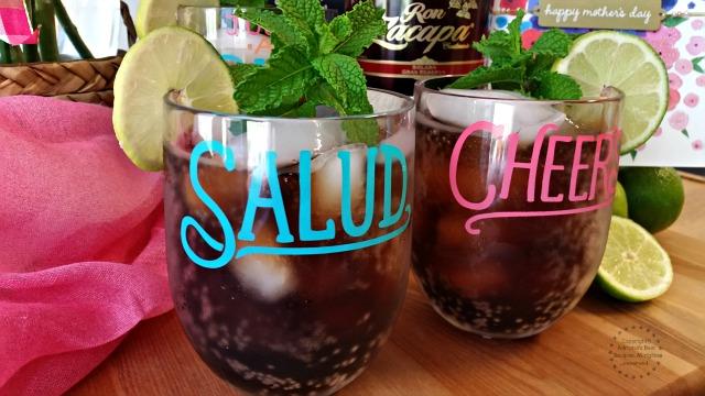 La Cuba Libre cocktail is a very traditional beverage in our latino culture  #ZacapaRum #ABRecipes