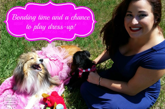 Bonding time and a chance to play dress-up #AmorBeneful #ad