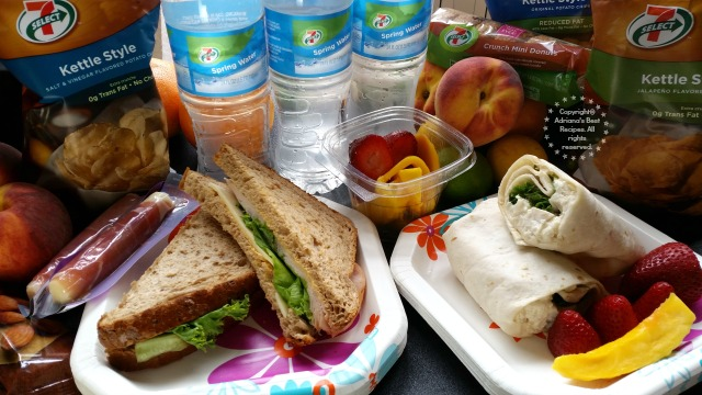 Choosing fresh foods to bring to the tailgate party before the big soccer game #7EFresh #ad