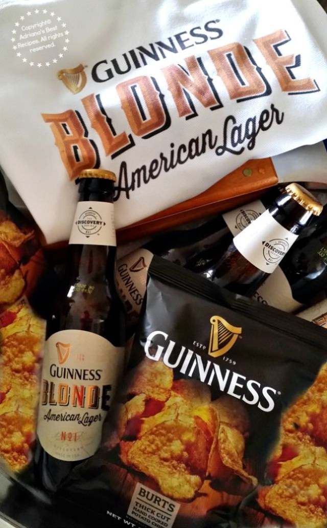 Meet the NEW Guinness Blonde American Lager #BlondeBBQChallenge #ad