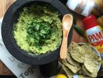 Grilled Guacamole for Easy Entertaining #PAMCookingSpray #ad