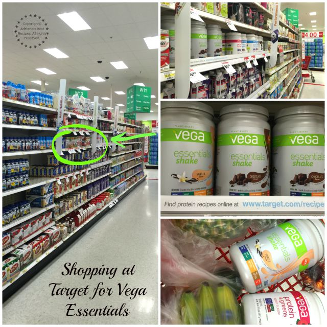 Shopping at Target for Vega Essentials #BestLifeProject #ad