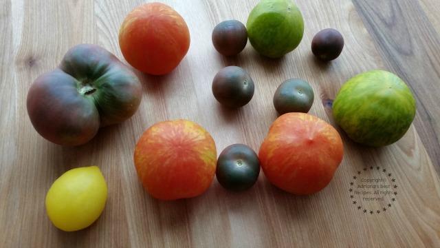 Fresh Heirloom Tomatoes #TeamFreshSummit #ad