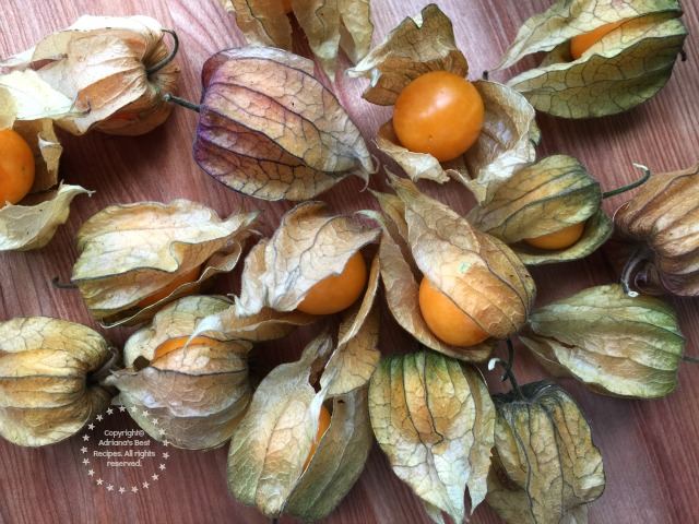 Fresh gooseberries or also called aguaymantos #ABRecipes