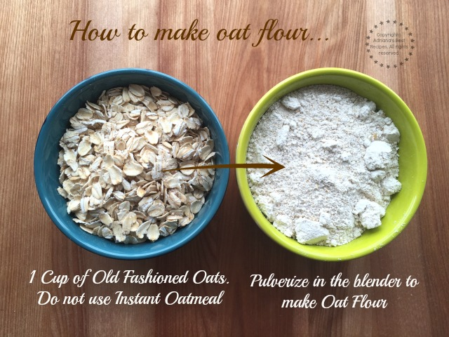 How to make oat flour #HerenciaLeche #ad #ABRecipes