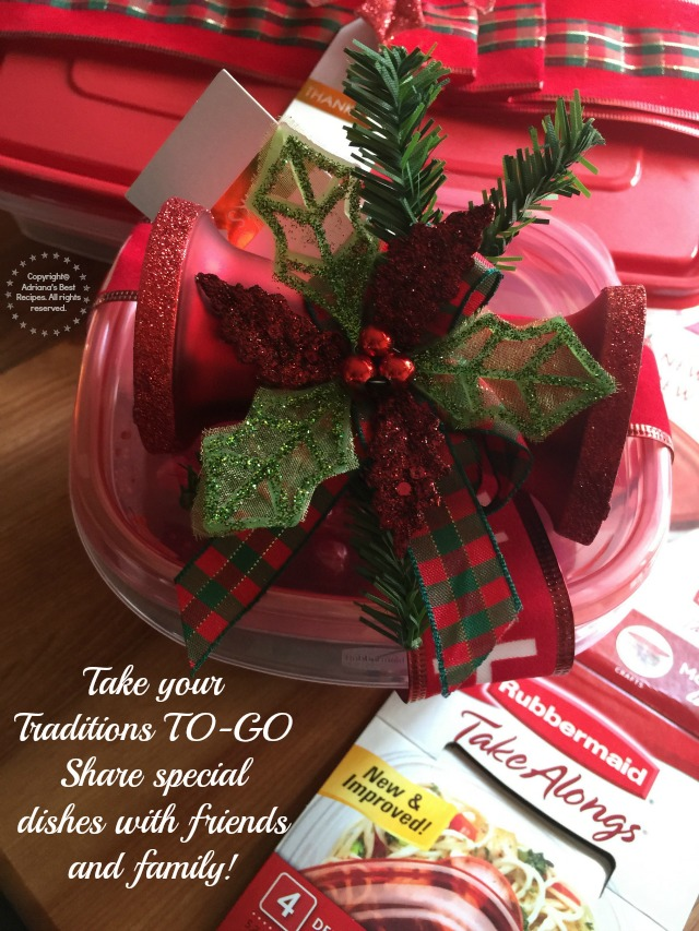 Take your traditions TO-GO share special dishes with friends and family #ShareTheHoliday AD