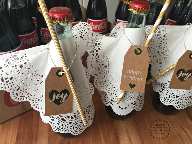 The Coke de Mexico Coca-Cola in glass bottles are perfect for gifting #ShareHolidayJoy