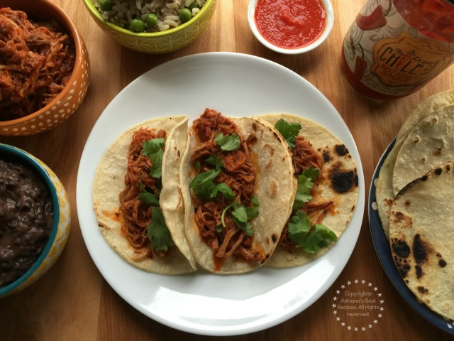 I decided to use this traditional pork cut combined with The Fresh Chile Co Red Chile Sauce to make a Mexican favorite A Shredded Pork on Red Chile Sauce