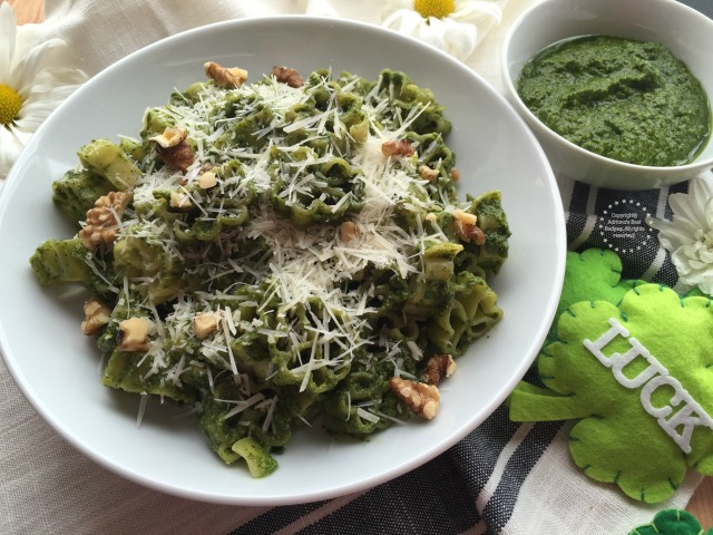 Kale Pesto Lucky Pasta Recipe