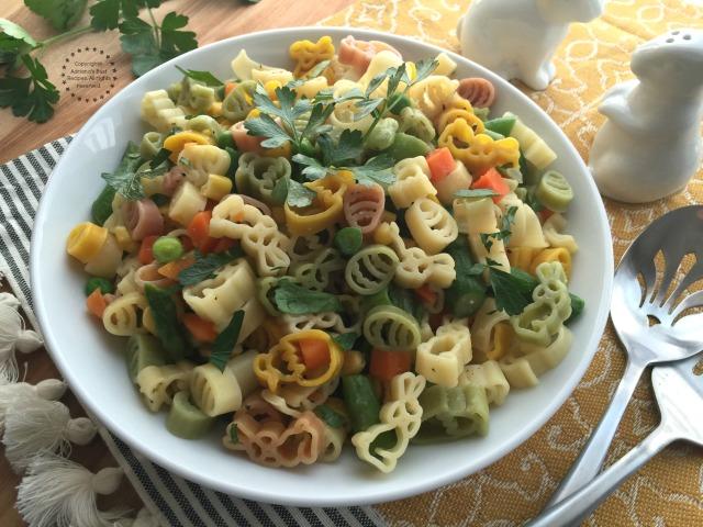 Spring Pasta Recipe for Easter