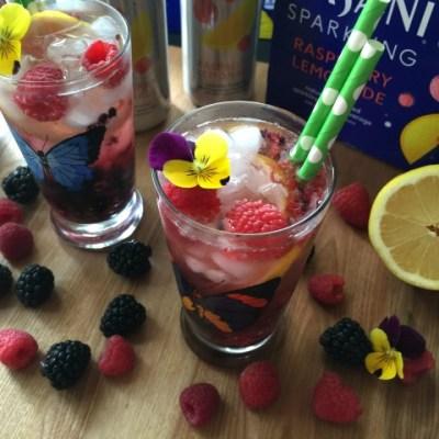 Berry Lemonade Sparkler