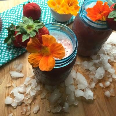 Strawberry Chia Agua Fresca