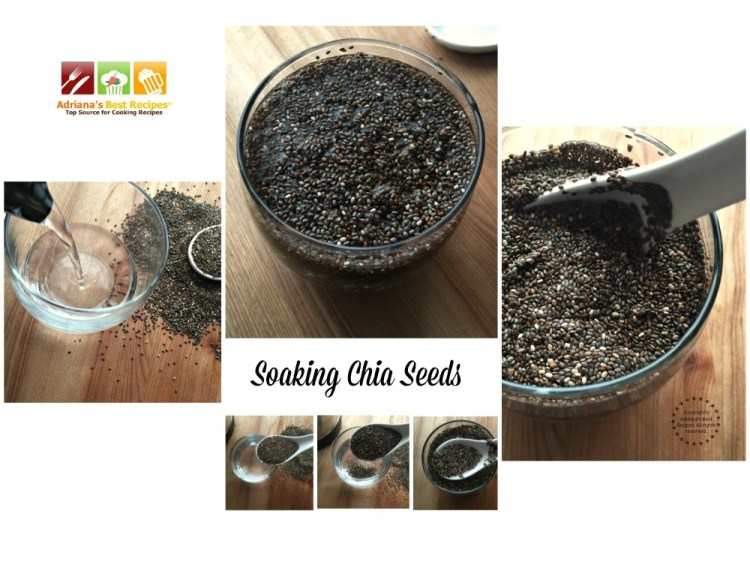 Soaking Chia Seeds