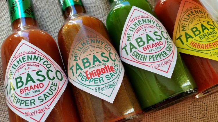 Incorporate TABASCO when preparing your grilled meats