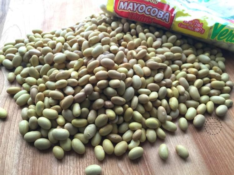 Mayocoba Beans or Frijoles Canarios