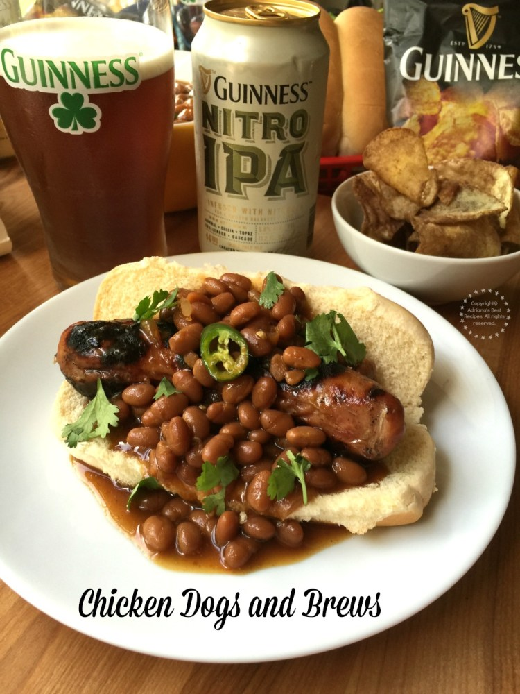Grilled Chicken Dogs and Brews to Celebrate Summer