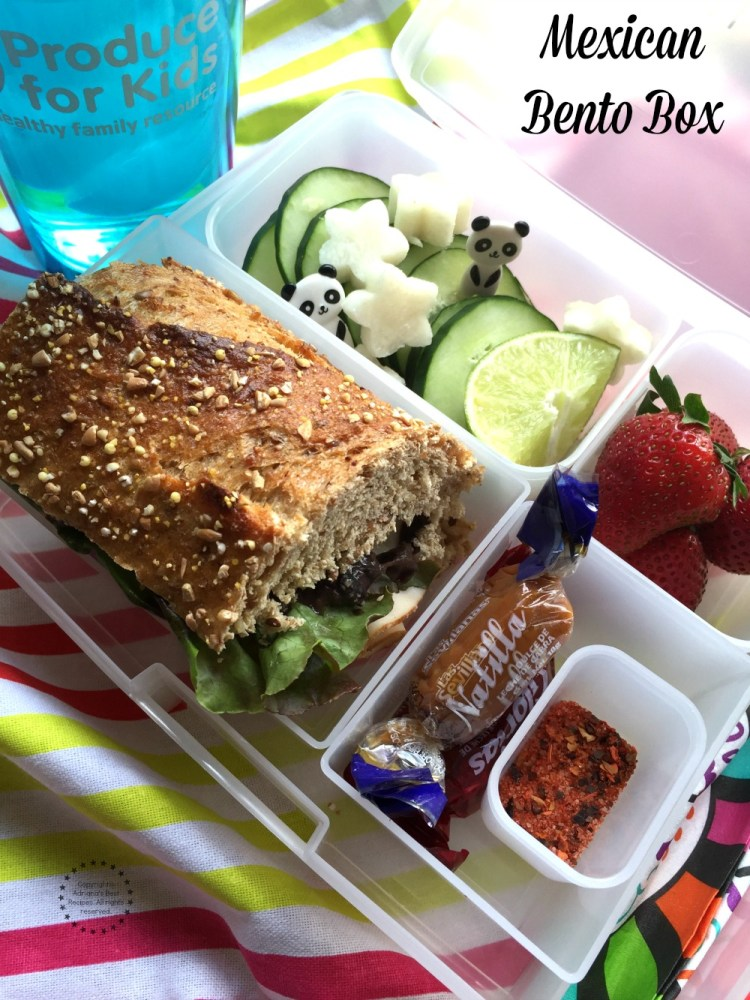 Mexican Bento Box for Back To School