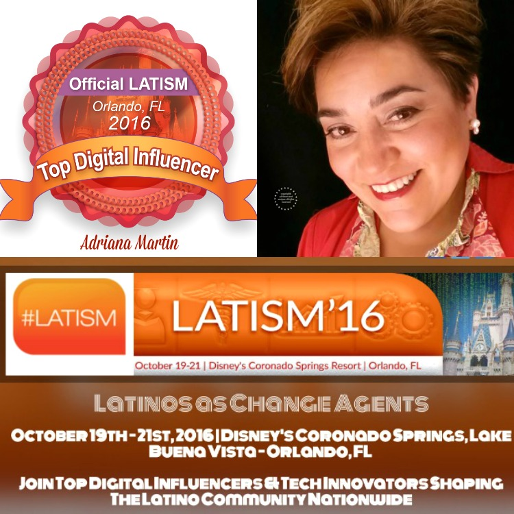Adriana Martin Top Digital Influencer for LATISM and a Change Agent
