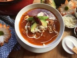 Caldo Tlalpeño una rica sopa para calentar el alma