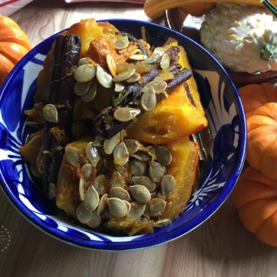 Candied Pumpkin Mexican Style