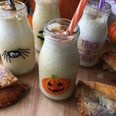 Mexican Pumpkin Shake for Halloween