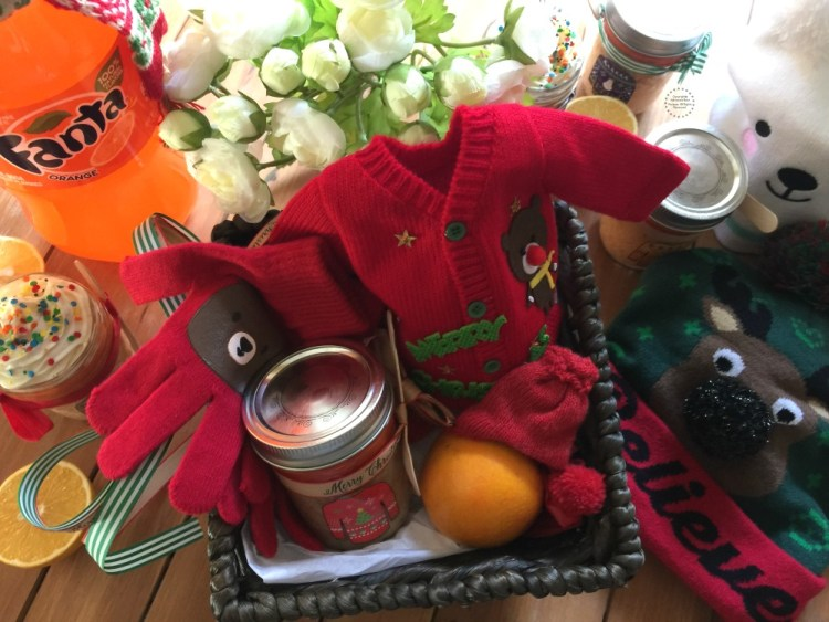 Homemade gifts and Fanta Cupcakes to cheer those in need