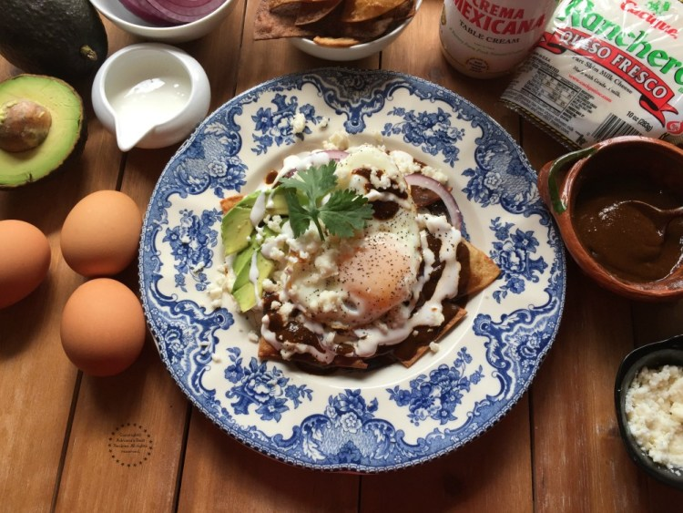 Mole Chilaquiles tasty option for breakfast or brunch